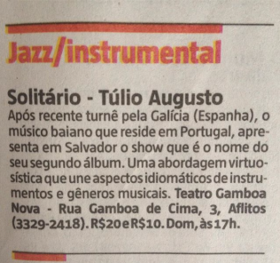 Solitario_Túlio Augusto_Gamboa Nova
