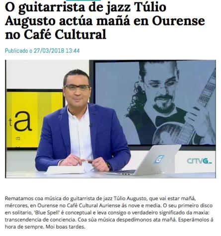 Túlio Augusto_Ourense_Clipping_TV_Guitar
