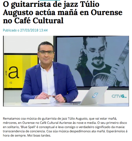 Túlio Augusto_Ourense_Clipping_TV_Guitar