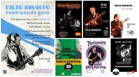 A Turnê Galicia_primavera_tulio_augusto_jazz_guitar_blues