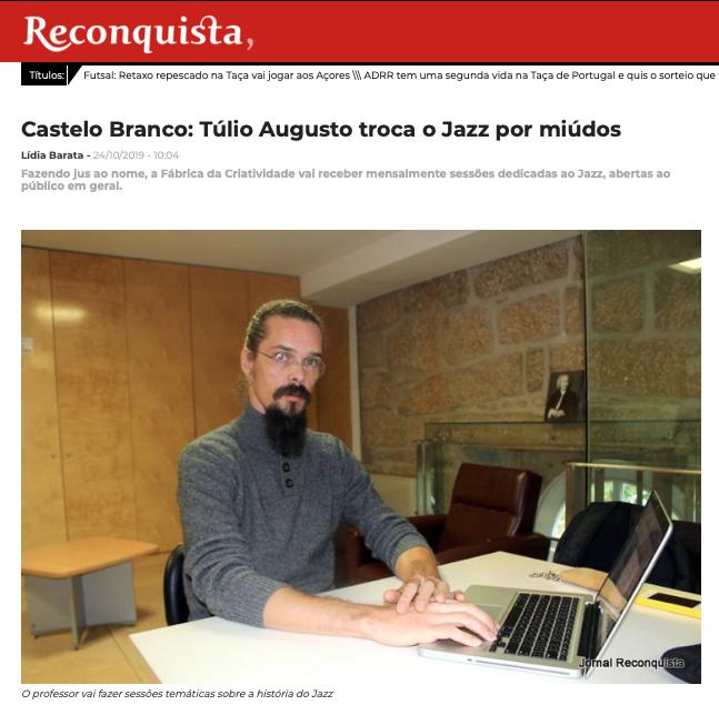 Reconquista_Túlio Augusto_Jazz