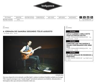 Túlio Augusto_Solitário_Jazz_Blues_Guitar_Harmonica_Gaita_Bodyspace