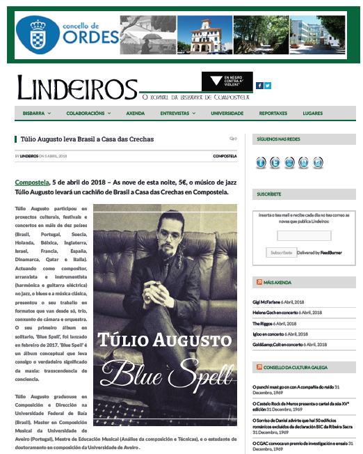Tulio Augusto_Crechas_Santiago_Jazz_Guitar